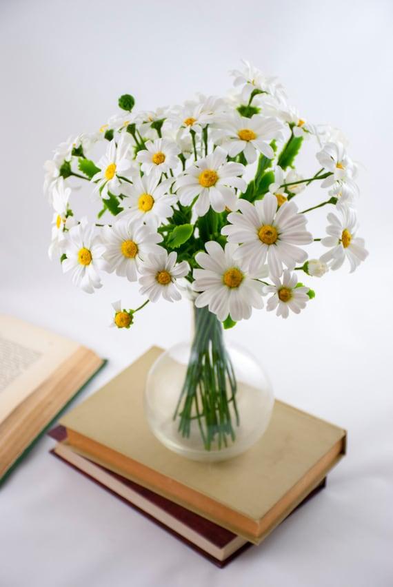 Gänseblümchen-Bouquet von Blumen Flower Vereinbarungen weiße