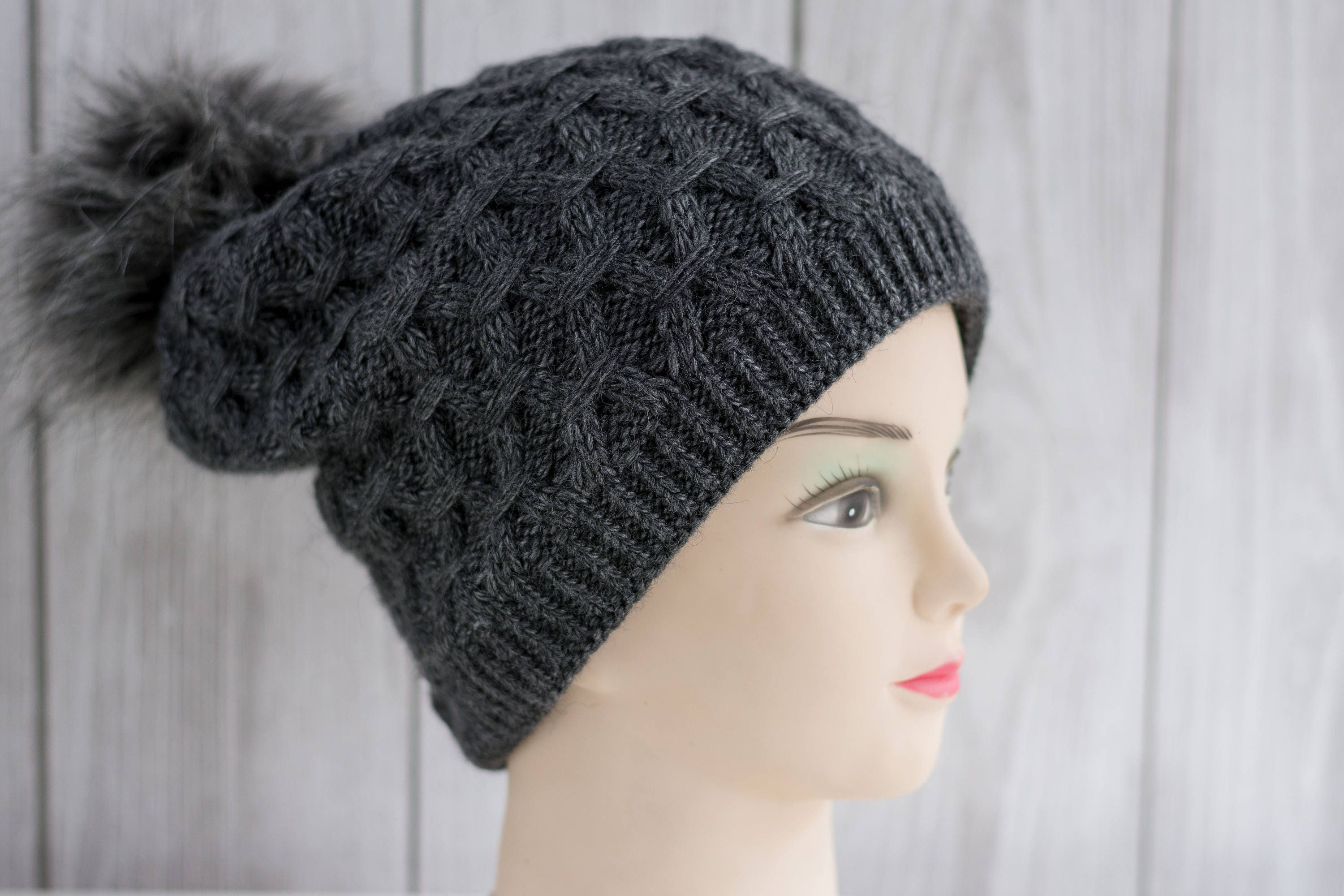 6476025223c373 ... discount code for soft womens beanie different colours womens knitted  hat knitted hat with pompon warm