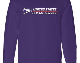USPS Long Sleeve brand new Purple BUY 2 get 1 FREE promotion! All sizes available