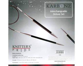 Knitter's Pride - Karbonz Interchangeable Deluxe Set