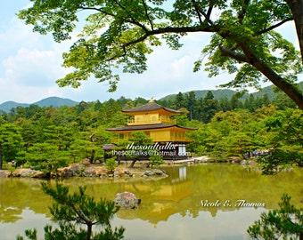 Fine Art Photography, Kinkakuji Temple, Kyoto Japan