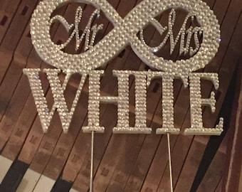 Wedding Cake Topper - Infinity