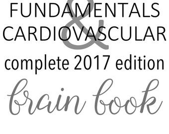 Nursing School Apparel Brain Books Forms & Charts by