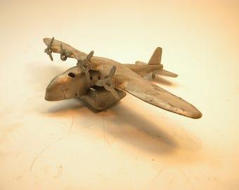 Wyandotte 4 Engine Airplane   1930's Metal Die-cast