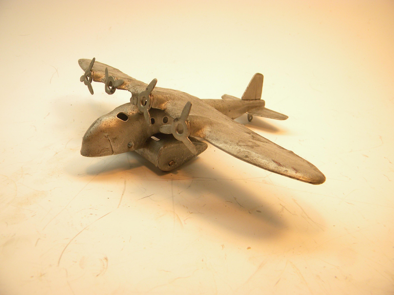 Wyandotte 4 Engine Airplane 1930\'s Metal Die-cast