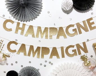 Champagne Campaign Banner | Champagne | Engagement Banner