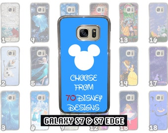 Samsung Galaxy S7 & Samsung Galaxy S7 Edge Disney Phone Case Choose from 70 Designs Beauty and the Beast Little Mermaid Peter Pan + More