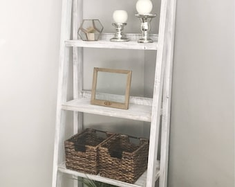 Ladder Shelf|Bookshelf
