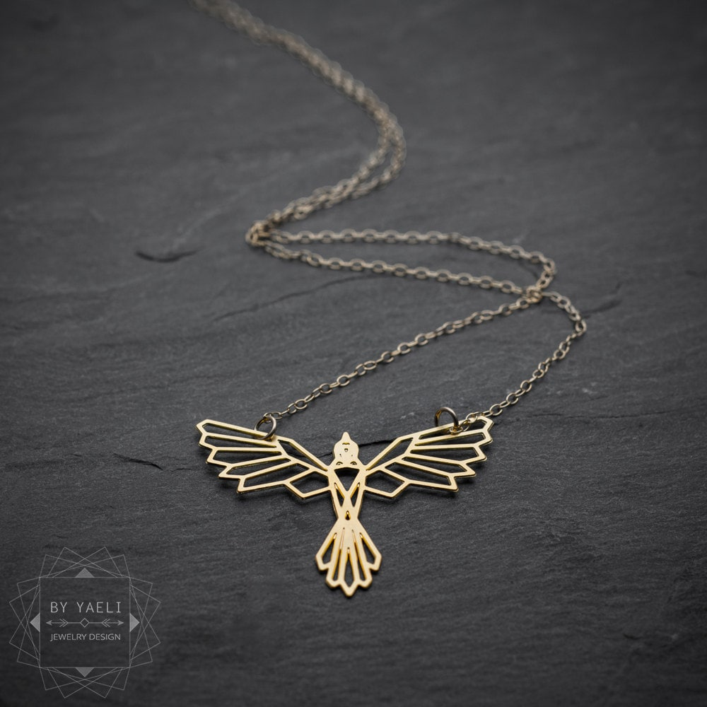 Bird necklace phoenix necklace phoenix pendant fantasy zoom aloadofball Images