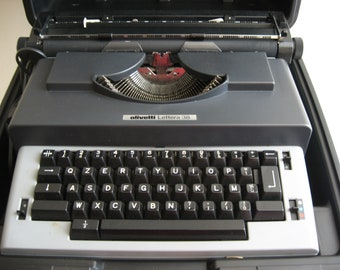 olivetti 38 typewriter