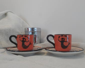 Meermaids' coffee set
