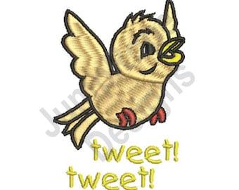 Tweet Tweet - Machine Embroidery Design