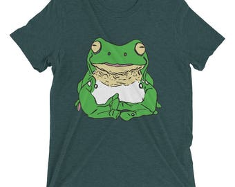 Stickyfrogs Green Tiny Frog T-shirt