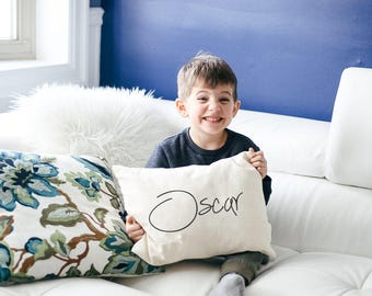 Personalized kids pillow, baby gift, boys pillow, Children's pillow, Newborn gift, girls pillow, pillow for nursery shower gift, unique gift