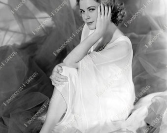GRACE KELLY 5x7, 8x10 or 11x14 Photo Print 1954 Graceful Dreamlike Glamour Portrait, High Fashion Actress, Golden Age of Hollywood