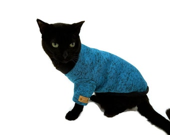 Cat Sweater-Several Colors-Cat Clothes - Cat Clothing - Cat Apparel - Pet Clothes - Shirts for Cats -Cat Shirts - Sweater for Cat