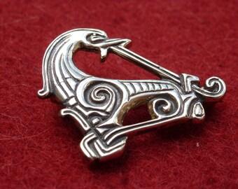 Viking Dragon Pin Replica from Denmark