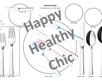 Etiquette Placemat for Kids