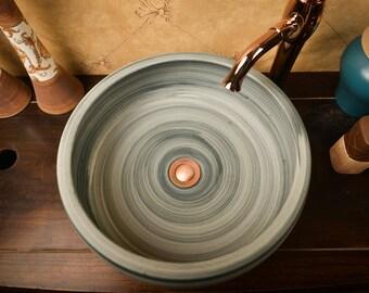 TheOne hand made ceramic vessel bowl, Inception
