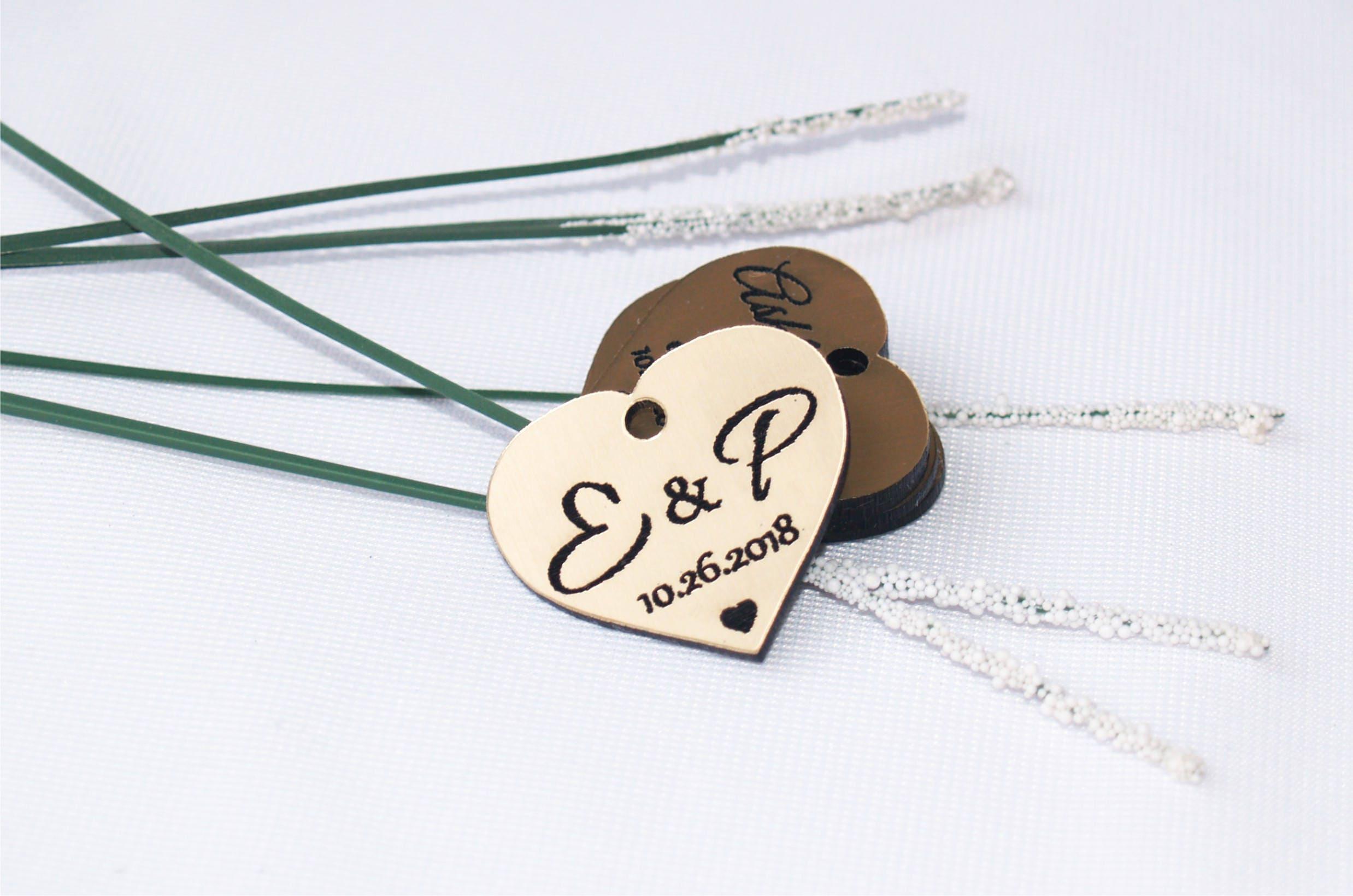 Wedding favor, Wedding tags, Wedding favor tags, Gold tags, Wedding ...