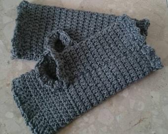Fingerless gloves, fingerless mittens, wool gloves, gloves, knitted gloves, knit gloves, grey, winter gloves, wool mittens, merino wool