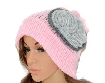Ready to ship -Brain Hat,Brain Beanie,thinking cap,Unisex crochet Beanie,Mens hat,Women hat,Handmade,March for Science,Pink brain hat,brain