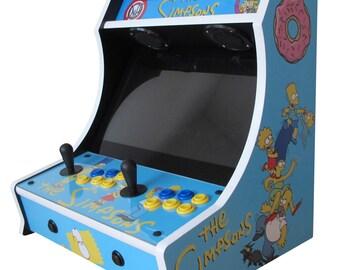 Simpsons Bartop Arcade! 705 Games!