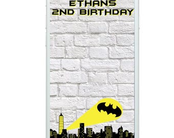 Batman Filter, Batman Party, Batman Snapchat Filter, Snapchat, Geofilter