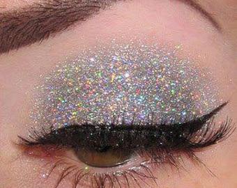 Tiara Silver Holographic Glitter