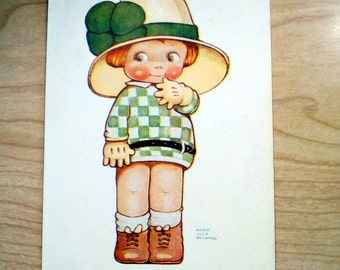 Mabel Lucy Attwell POSTCARD - I likes Oo