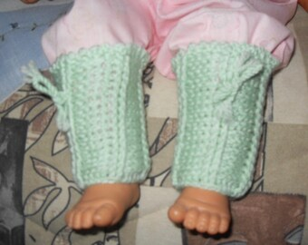 crochet baby leg warmers gaiters