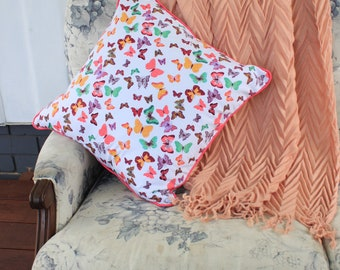 Colourful Butterfly Cushions
