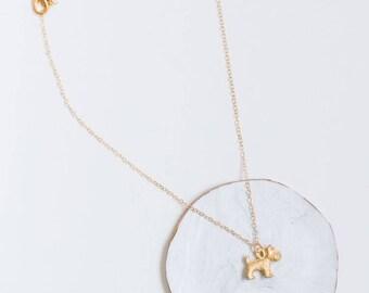 Schnauzer jewelry-Gold Dog Necklace-Dog necklace-Dog lover gift jewelry-Dog lover necklace-Dog lovers gift-Dog lovers jewelry-Doggy necklace