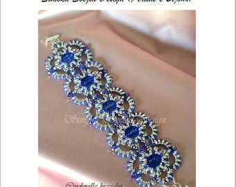"""TUTORIAL """"Cinderella"""" bracelet / bracciale"""