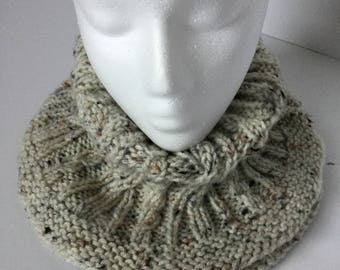 COWL SCARF - Hand Knit
