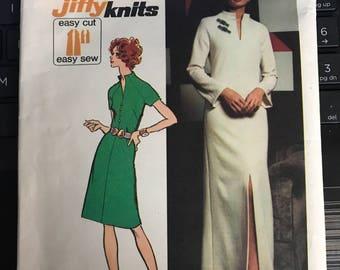 Vintage 70s Simplicity 5320 Dress Pattern-Size 10 (32 1/2-25-34 1/2)