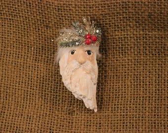 One of a kind Santa Pin