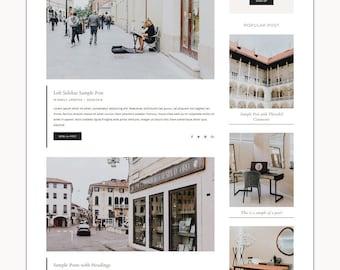 Billgrotia - Responsive Wordpress Theme - Genesis Child Theme - Wordpress Blog Theme - Photography Theme – Instant Digital Download