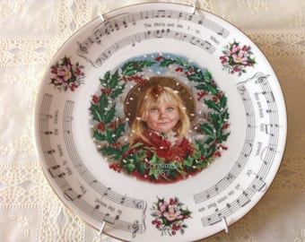 Royal Doulton Vintage Christmas Carols 1987 - The Holly And Ivy