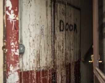 Door City Art Photography Charleston South Carolina Red White Entry Way