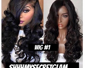 Top Quality Front Lace High Heat Resistance Wigs