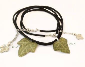 Resin ivy leaf jewelry Pressed ivy leaf necklace Real ivy leaf jewelry Pressed tree leaf pendant Woodland ivy leaf Friendship ivy pendant