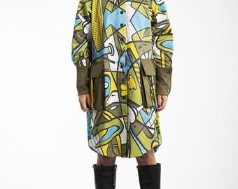 Spring coat shirt Aqualoopa