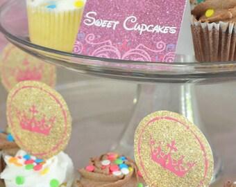 "CUSTOM Disney Princess ""Food"" Sign Labels // INSTANT DOWNLOAD // Party Decor // Printable, Digital"