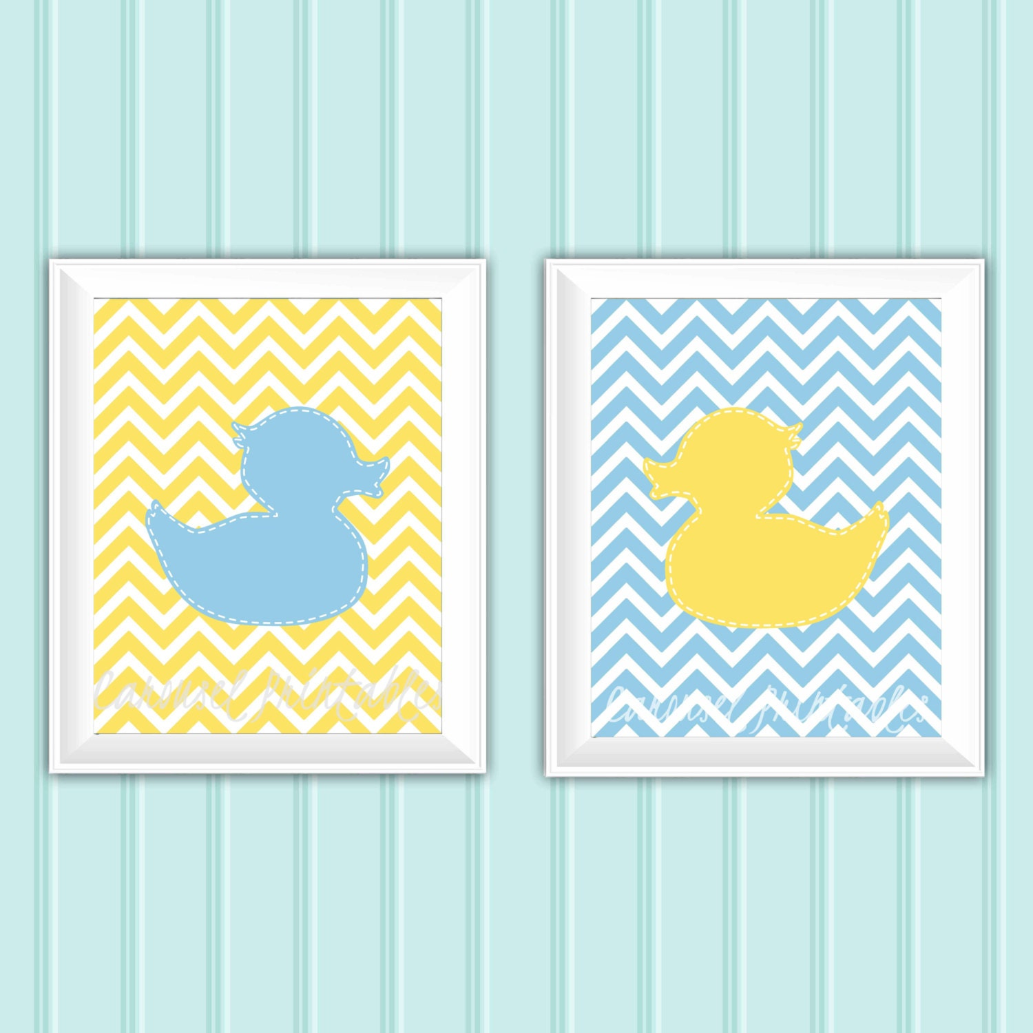 Rubber Duck Wall Art, Bathroom Wall Art,Printable Wall Art,Instant ...