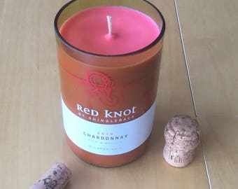 Wine soy candle collection 1