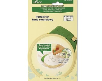 Clover Embroidery Hoop Small Part No. 8813