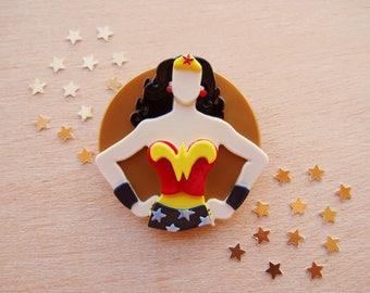Wonder Woman Brooch