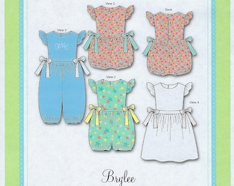 Bonnie Blue Pattern #304 / BRYLEE / Sizes 6 mo - 24 mo, and 3 yr, 4 yr