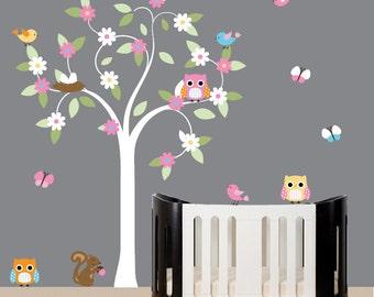 Childrens nursery wall decal tree - 051
